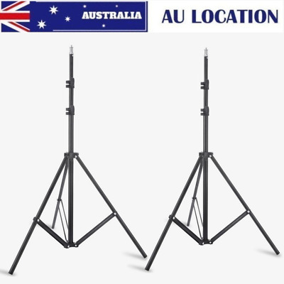 2pcs 195cm Light Stand W803 for Flash Photo Studio Lighting Umbrella Softbox AU