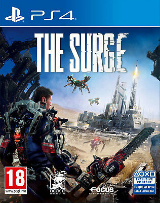The Surge (PS4)  BRAND NEW AND SEALED - IN STOCK - QUICK DISPATCH