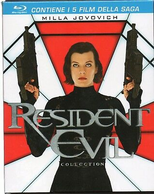 Resident evil collection - 5 Blu-Ray - nuovo
