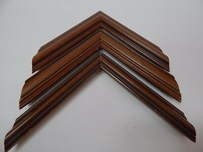72ft @ $.75ft lot picture frame moulding length variety walnuts  stix@48""