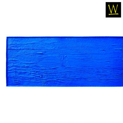 Centennial Plank Wood   Single Concrete Stamp by Walttools (Blue, 7 ft.)
