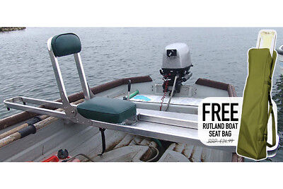 Rutland NEW Strong Lightweight Fly Fishing Boat Seat with Free Boat Seat Bag
