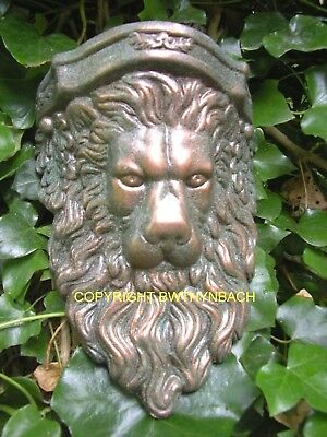 New Rubber Latex Mould Moulds Mold To Make Outdoor Lion Head Wall Corbel Sconce