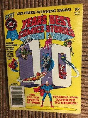 Best of DC Blue Ribbon Special Digest Years Best Comics Stories #11