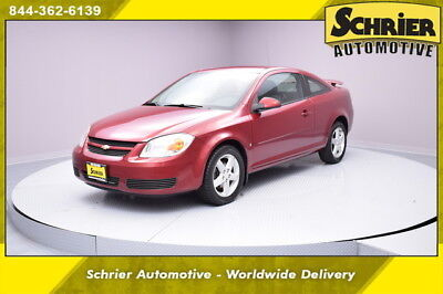 2007 Chevrolet Cobalt LT Coupe 2-Door 07 Chevy Cobalt Red FWD Alloy Wheels Manual Transmission