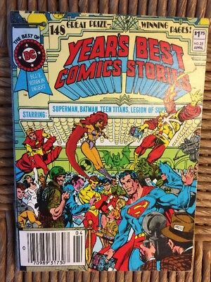 Best of DC Blue Ribbon Digest Years Best Comics Stories #35