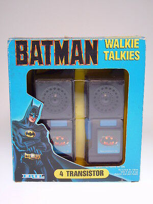 "GSCOM ""BATMAN WALKIE TALKIES"" ERTL.1989, 24x22cm ,SEHR GUT/VERY GOOD IN BOX"