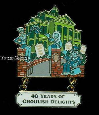 Disney Cast Design Haunted Mansion 40 Years Ghoulish Delights Ghosts Le Pin