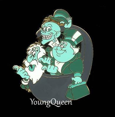 Disney Haunted Mansion Hitchhiking Ghosts Phineas Ezra Gus in Doombuggy Pin