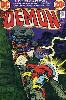 "DEMON #5 VG/F, Jack Kirby C/S/A, 2"" tear on 1 page, DC Comics 1973"