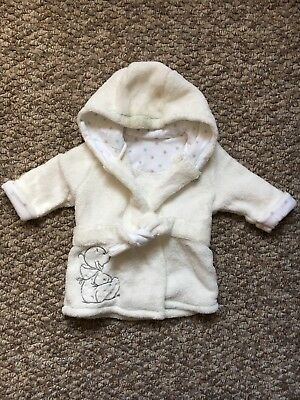 Unisex Humphreys Corner @ Mothercare Dressing Gown Age 0-3 Months