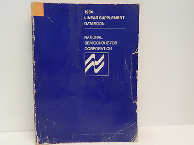 LINEAR SUPPLEMENT DATA BOOK ed 1984 NATIONAL SEMICONDUCTOR CORPORATION