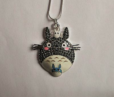MY NEIGHBOUR TOTORO Inspired Large Charm NECKLACE Neighbor