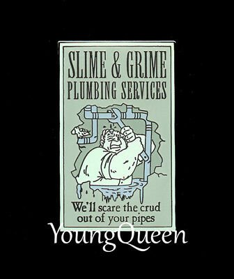 Disney Haunted Mansion Slime & Grime Plumbing O'Pin House Le Pin