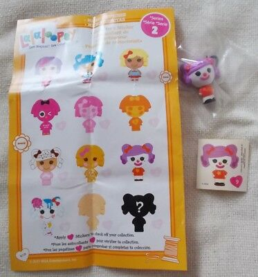 LALALOOPSY Micro Doll - Series 2 - Number 9 - New in Bag with Sticker