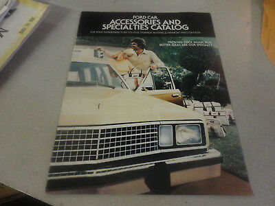 Rare 1977 FORD Car Accessories and Specialties Brochure