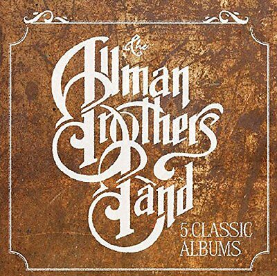 The Allman Brothers - 5 Classic Albums - New Cd Box Set
