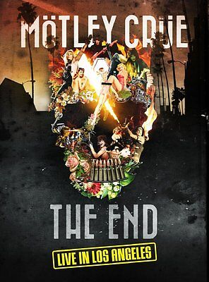Motley Crue - The End: Live In Los Angeles - New Dvd