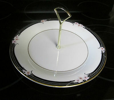 Royal Doulton ENCHANTMENT Round Serving Plate With Handle Near Mint Condition