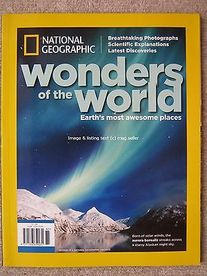 National Geographic Wonders of the World Everest Grand Canyon Patagonia Sahara