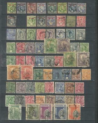 Zanzibar British colony Early Used Lot 1896-1936,Part sets.