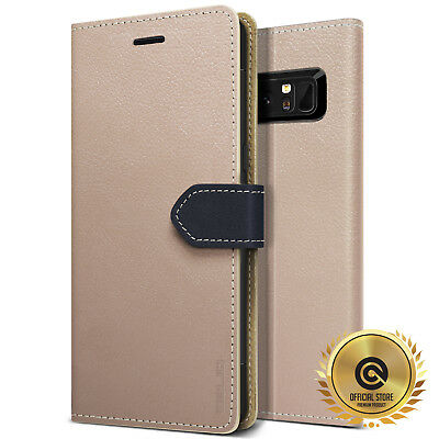 OBLIQ® [K1 Wallet Case] Leather Case 3 Slot Cards w/ Kickstand For Galaxy Note 8