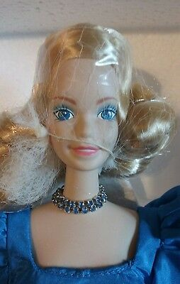 Blue Rhapsody Porcelain Barbie 1986 Limited Edition 1st in Series