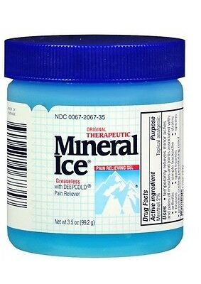 Mineral Ice Topical Analgesic Pain Relieving, 3.5 Ounce
