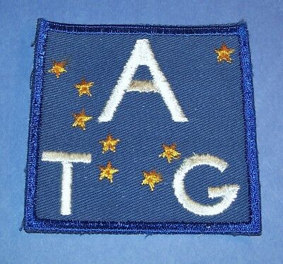 Original Cut-Edge Twill Ww2 Alaska Territorial Guard Patch