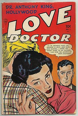 DR. ANTHONY KING, HOLLYWOOD LOVE DOCTOR #1 (Pre-Code Romance) Minoan, 1952