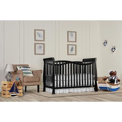 New Dream On Me Violet 7-in-1 Convertible Life Style Crib - Black Model:3254ED27