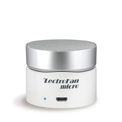 New LectroFan Micro Wireless White Noise and Fan Sound Machine - White/Silver