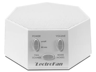 New LectroFan White Noise and Fan Sound Machine - White Model:1ADFBD06