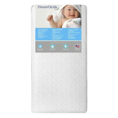 New Dream On Me Slumberland 2-Sided Crib and Toddler Mattress - Platinum