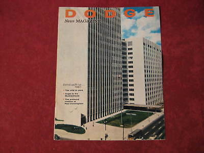 1959 Dodge  Showroom Dealership Brochure Magazine Original Old Vintage Nice