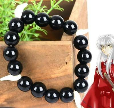InuYasha Sesshoumaru Anime Cosplay Bead bracelet Teeth Chain Stori bracelets ψ