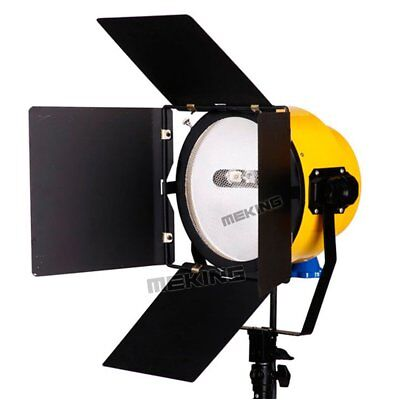 Continuous Lighting Yellow Head Spotlight Blonde Light 2000W For Studio Video