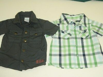 baby boy size 0 dress shirt