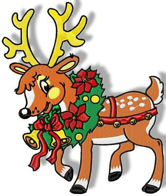 Mixed Christmas Designs 25 Machine Embroidery Designs Cd 4 Sizes Included
