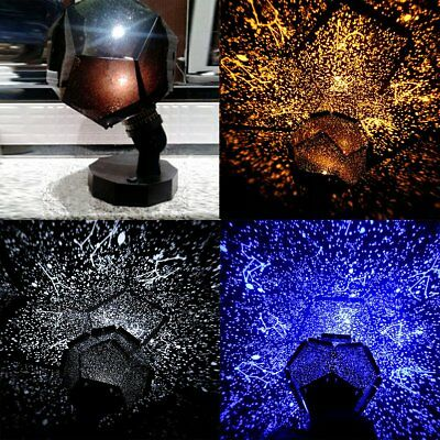 Romantic LED Starry Night Sky Projector Lamp Kids Star light Cosmos Master Gift