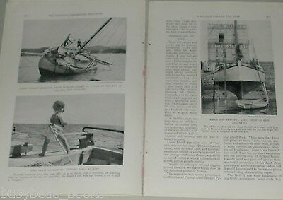 1931 magazine article Erling Tambs, Sailing, Teddy, world cruise