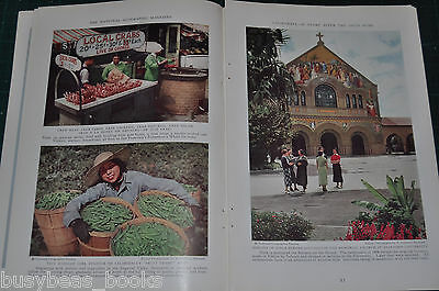 1936 magazine articles about CALIFORNIA, history, business etc, color photos