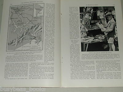 1939 magazine article about SAO PAULO BRAZIL, history, people, pre WWII, coffee