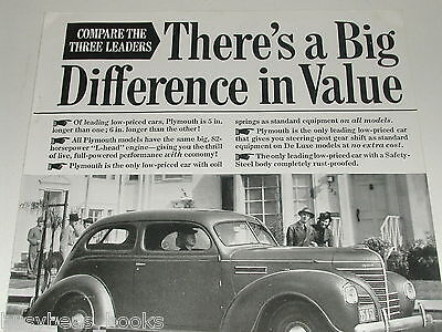 1939 Plymouth ad, Plymouth 2-door coupe photo
