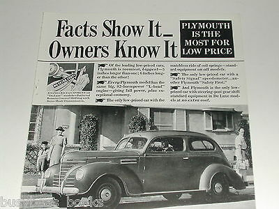 1939 Plymouth ad, Plymouth 2-door coupe