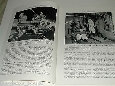 1943 magazine article, US ARMY testing of personnel & equipment, WWII