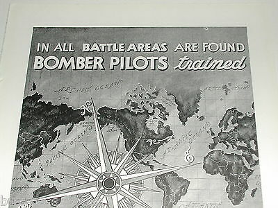 1943 Jacobs Aircraft Engines ad, Bomber pilot training