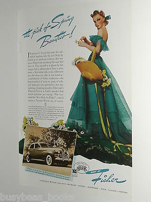 1940 Fisher Body ad, Oldsmobile, Southern Belle, color