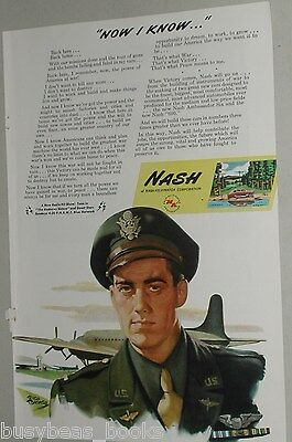 1945 Nash Kelvinator ad, WWII, US Army Air Force