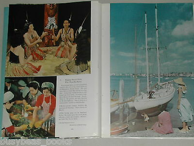 1952 magazine article on New Zealand color photos history people